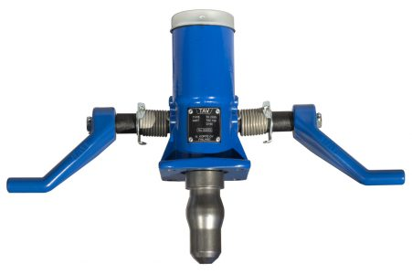 TAV100 mechanism for manually operated TAV50 coupling heads