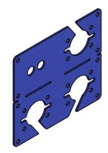 TAV735 duomatic mounting plate
