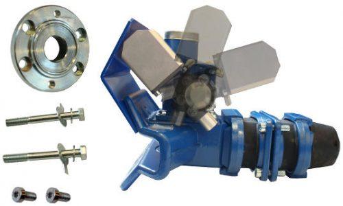 TAV5812 Servo cylinder slewing flange for version 1
