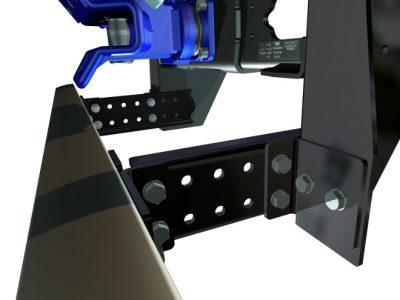 TAV717 relocation kit for TAV710 underrun protection