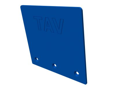 TAV5810S Upper protect plate straight + fastening bolts